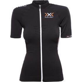 X-Bionic The Trick Fietsshirt korte mouwen Dames zwart